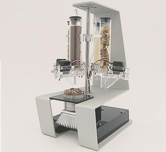 Принтер Digital Chocolatier печатает лакомства из шоколада иорехов