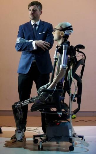 Bionic Man— двойник настоящего живого человека, психолога из Цюрихского университета Бертольда Майера. Фото: planetaurbe.com