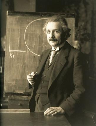 Альберт Эйнштейн. Вена, 1921 год