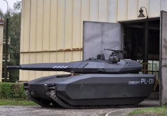 Боевое отделение PL-01 будет необитаемым, абоекомплект разместится визолированном кормовом отсеке.