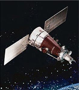 Российский разведывательный спутник серии Янтарь-4К2М (Кобальт-М).