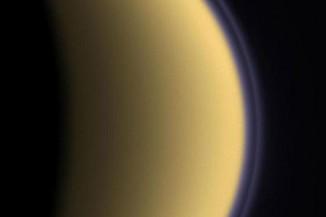 Слои атмосферы наТитане.