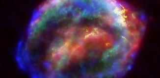 Образовавшаяся наместе вспышки сверхновой Кеплера туманность. Фото: NASA/ESA/JHU/R.Sankrit & W.Blair.