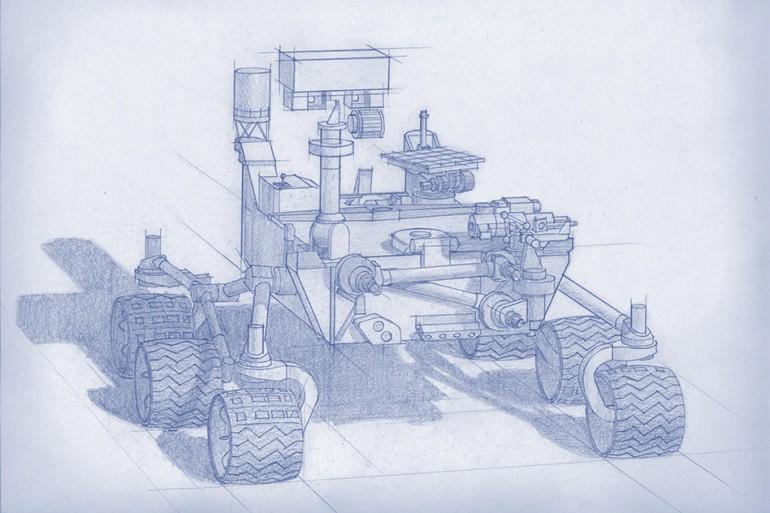 Так будет выглядеть марсоход, который отправится наМарс виюле 2020 года.