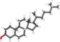 Молекула холестерина (C27H46O)— вещества, которое может стать причиной сердечно-сосудистых заболеваний ипреждевременной смерти.