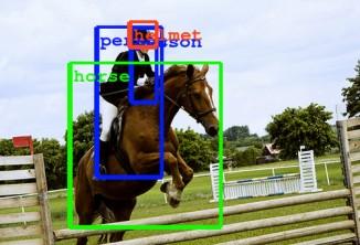 В скором будущем автоматическое визуальное распознавание объектов будет выглядеть, как минимум, так.
