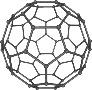Структурная схема бакминстерфуллерена