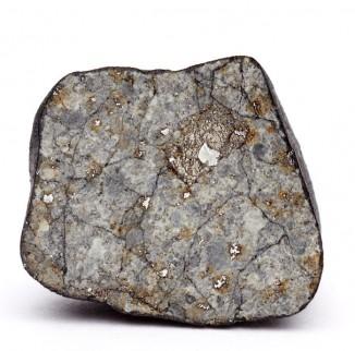 Осколок Челябинского метеорита вразрезе.