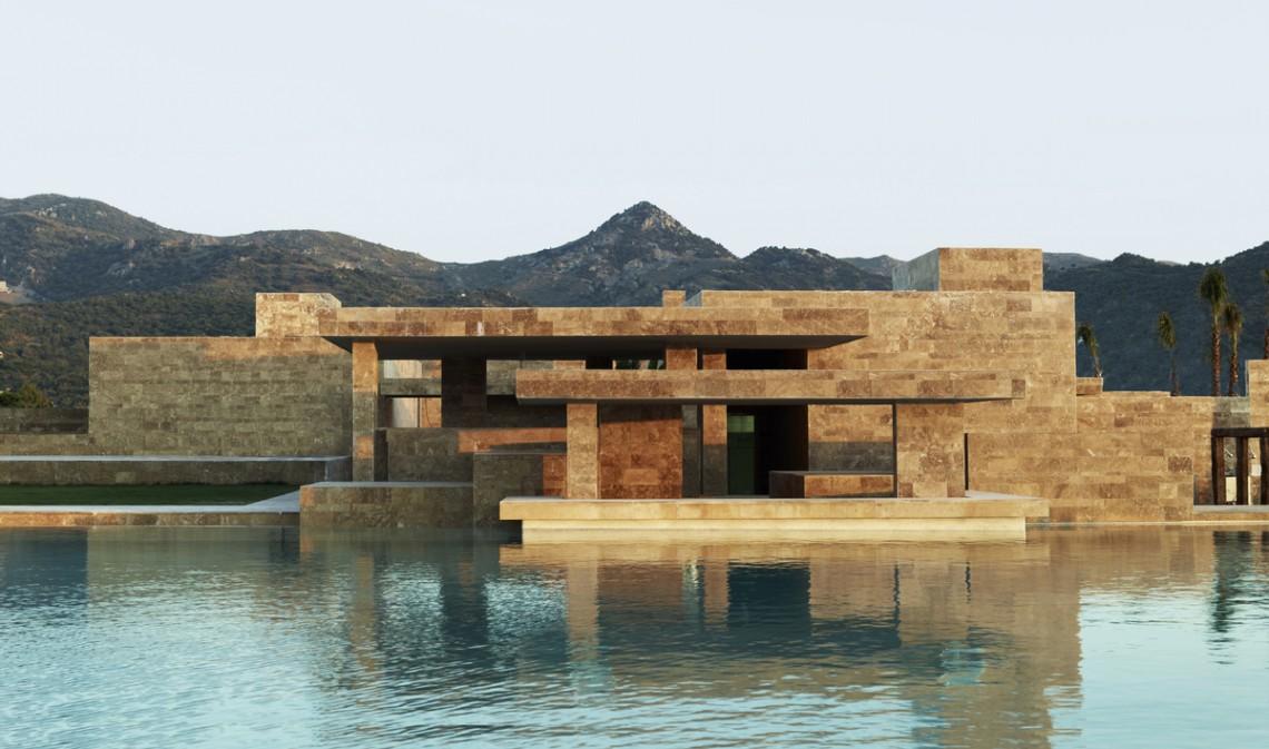 Yalikavak Marina Complex by EAA-Emre Arolat Architects.
