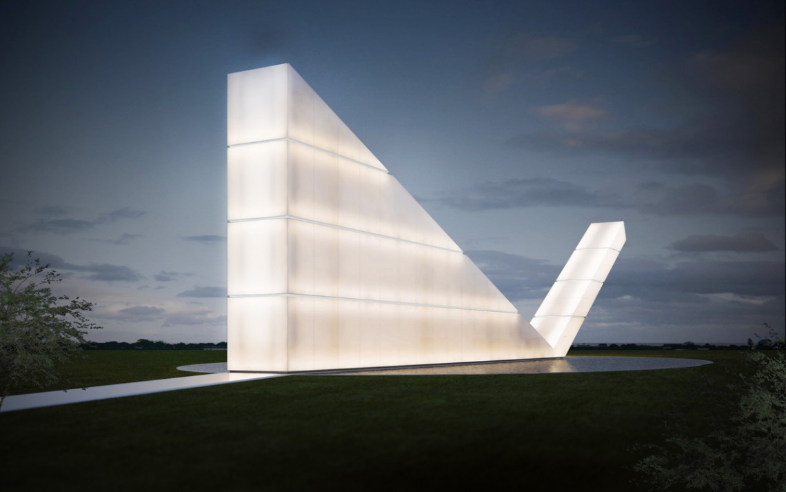 Freedom of The Press Monument by Gustavo Penna Arquiteto & Associates