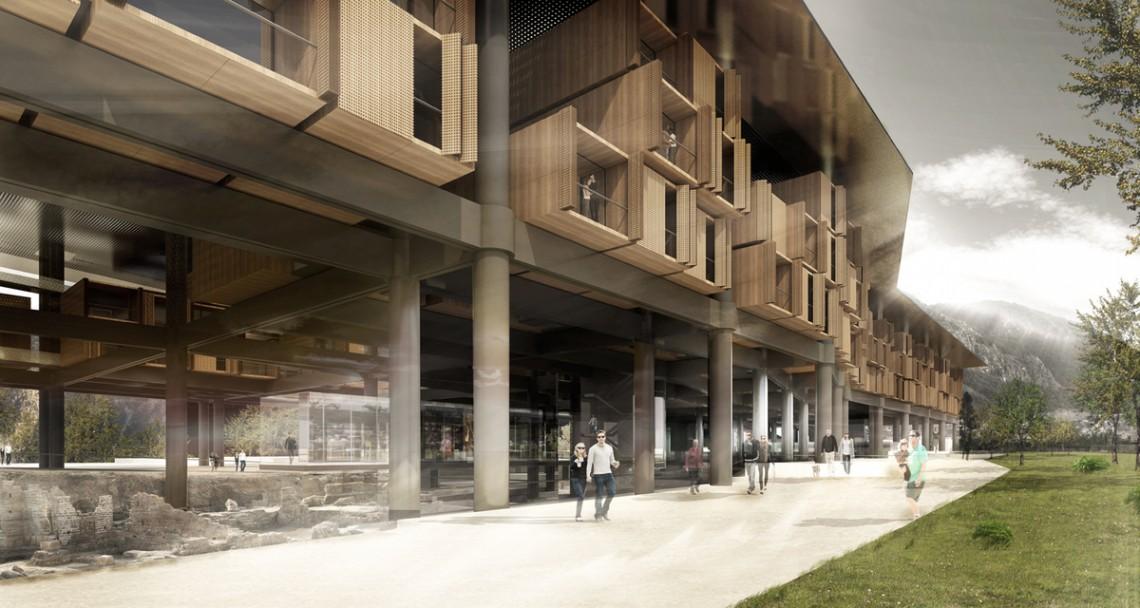 Antakya Museum Hotel by EAA-Emre Arolat Architects.
