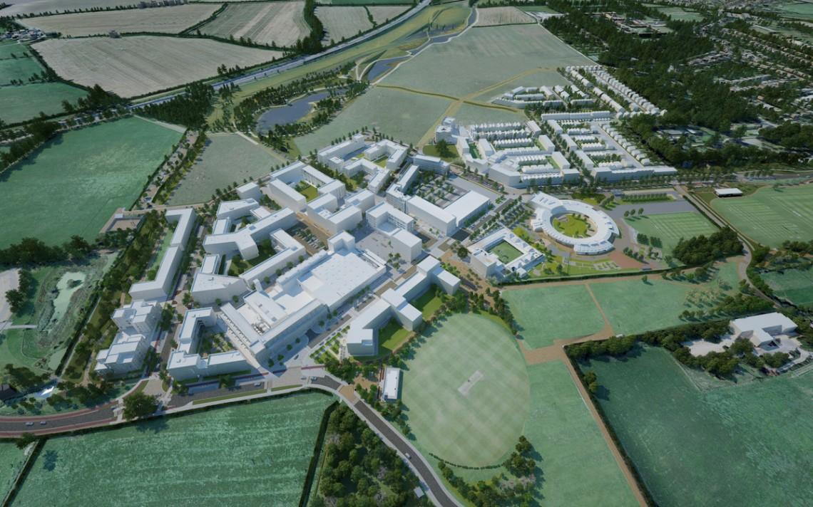 Northwest Cambridge Masterplan— AECOM.