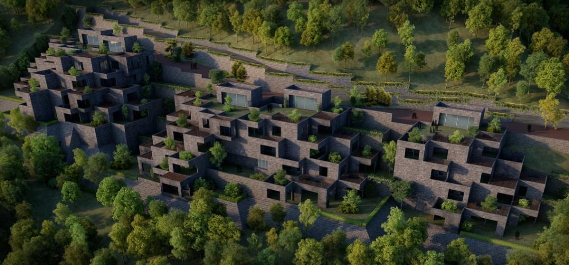 The Village by Sanjay Puri Architects.