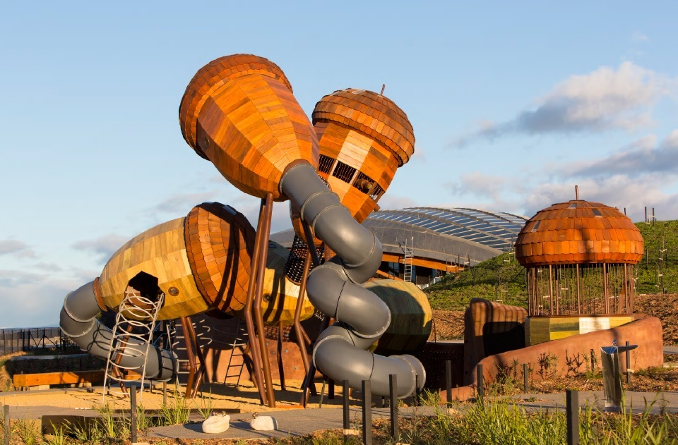 National Arboretum Canberra, Australia, designed by Taylor Cullity Lethlean and Tonkin Zulaikha Greer.