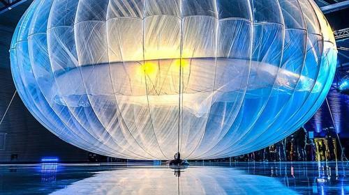 Воздушный шар Google.