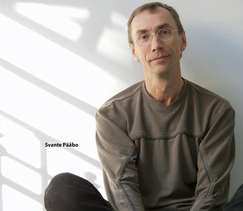 Палеогенетик Сванте Паабо (Пеэбо).  Среди его достижений— открытие т.н. Денисовского человека.