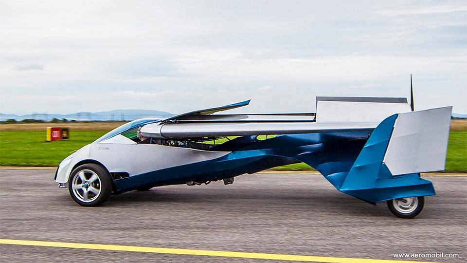 AeroMobil версии 2.5.