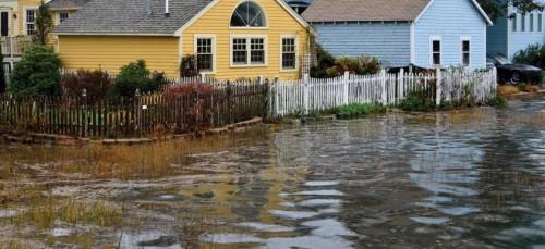 Анализ данных пятидесяти двух мареографов показывает, что множество городов США, от Портленда вМэне до Фрипорта вТехасе, вближайшие десятилетия столкнутся сростом числа итяжести приливных наводнений. Фото: Tim Hayes/Puddleduck Photo.