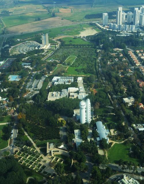 Weizmann Institute of Science Aerial View.