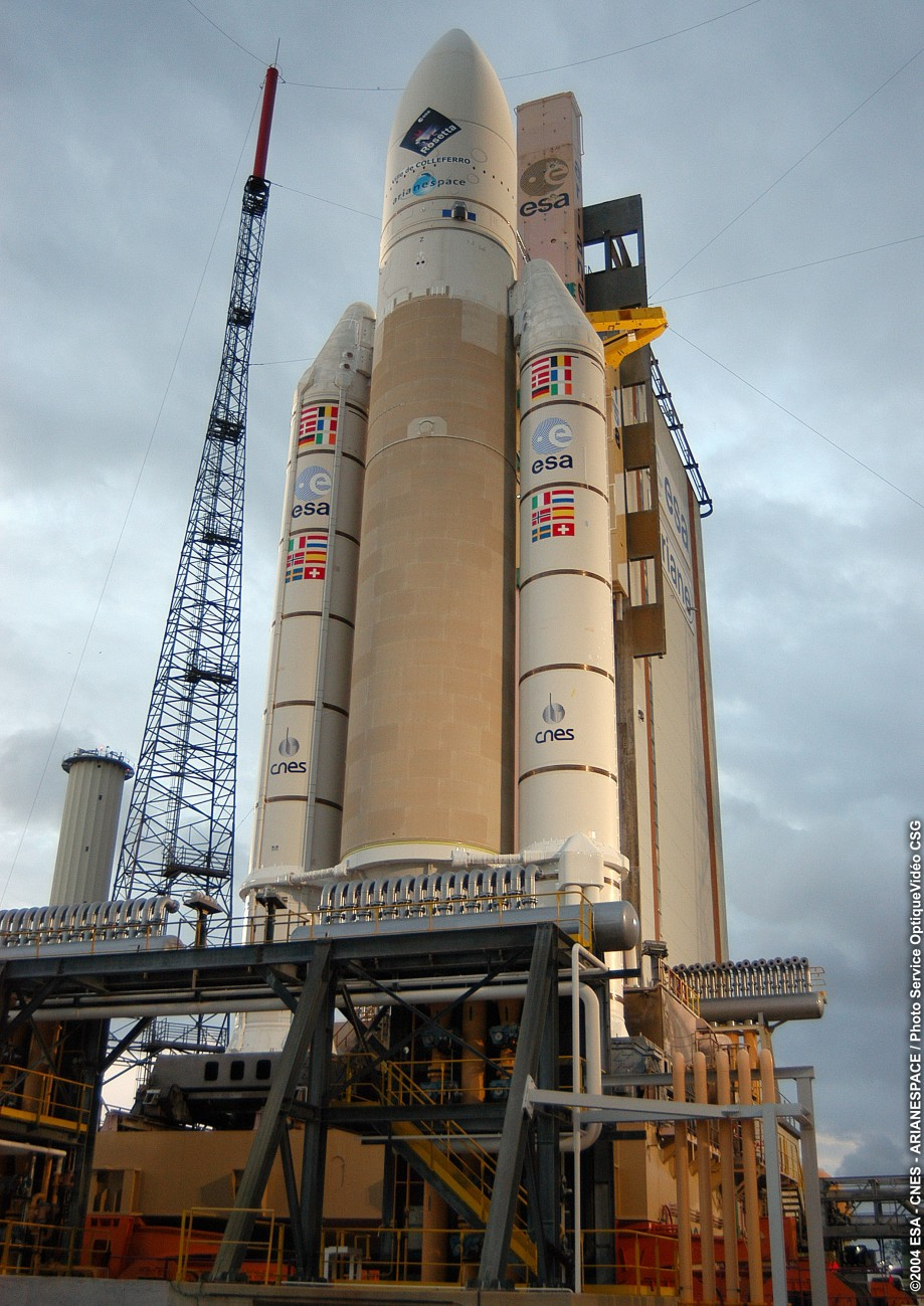 «Ариан-5» и«Розетта»