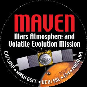 Логотип миссии MAVEN.