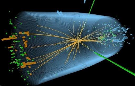 Столкновение частиц вдетекторе