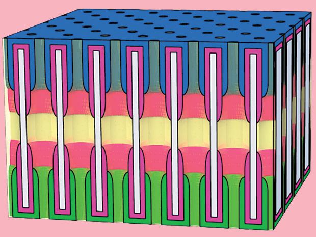 Аккумулятор из нанопор
