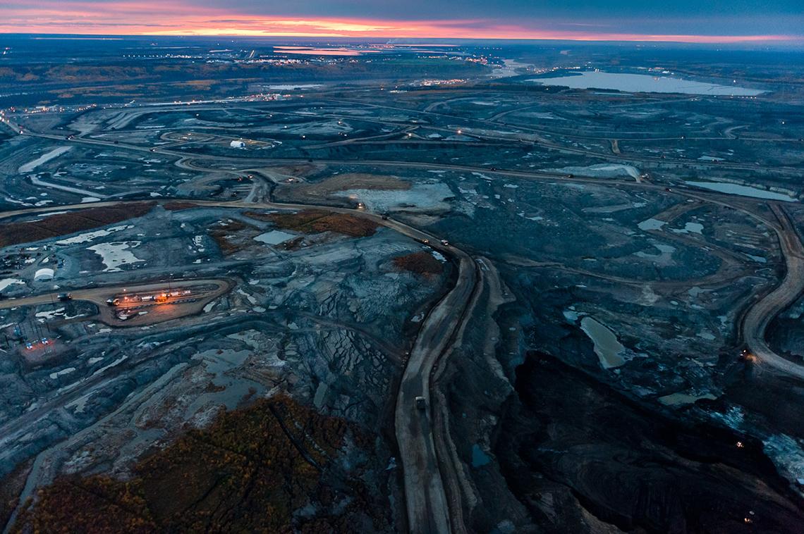 Битуминозных песков напланете— колоссальные запасы— триллионы баррелей.