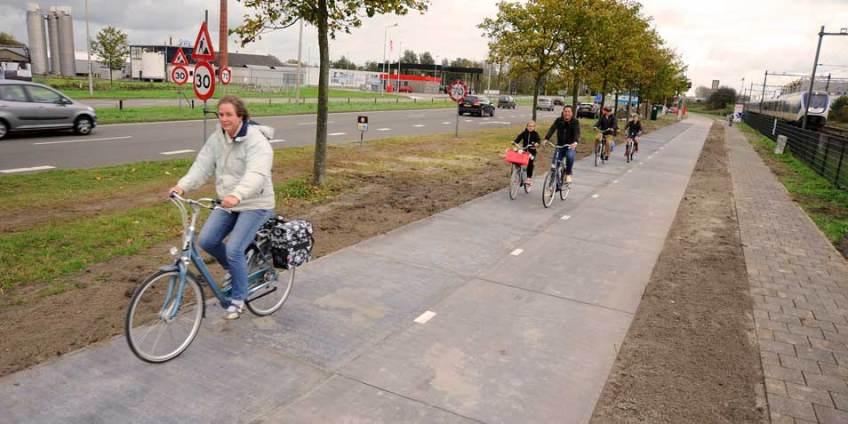 Велосипедисты на«солнечной дороге»
