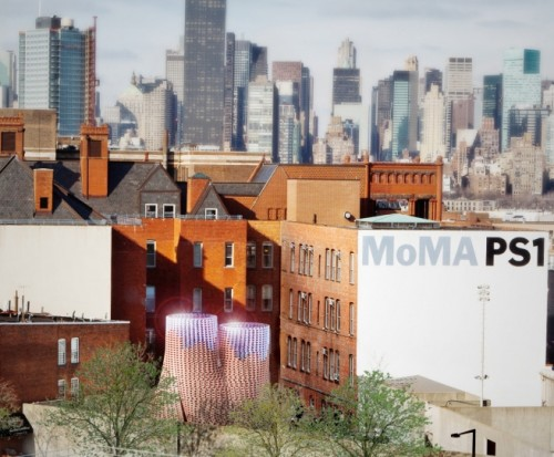 Здание Hy-Fi умузея MoMA (Museum of Modern Art).