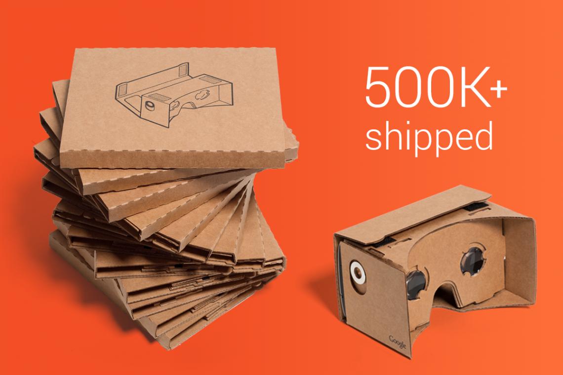 Google Cardboard 500k+