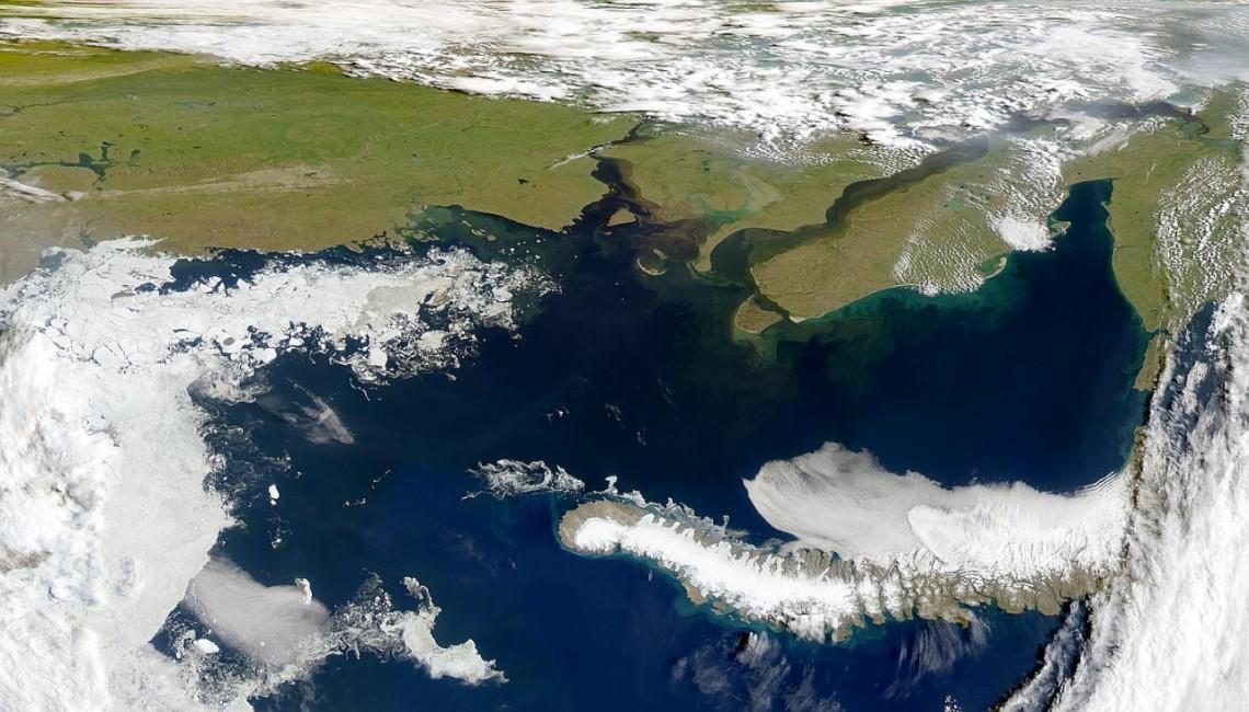 Карское море.