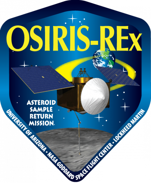 Эмблема миссии OSIRIS-REx