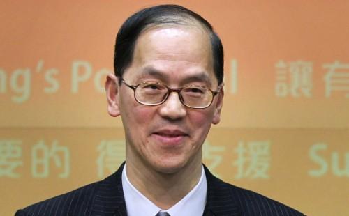 Секретарь по внутренним делам Гонконга Цан Так-син
