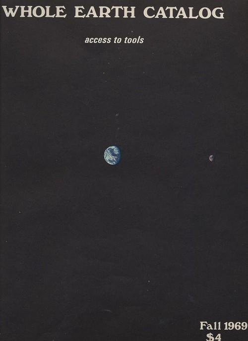 Обложка The Whole Earth Catalog. Издание 1969 года.