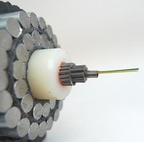 Подводный кабель вразрезе