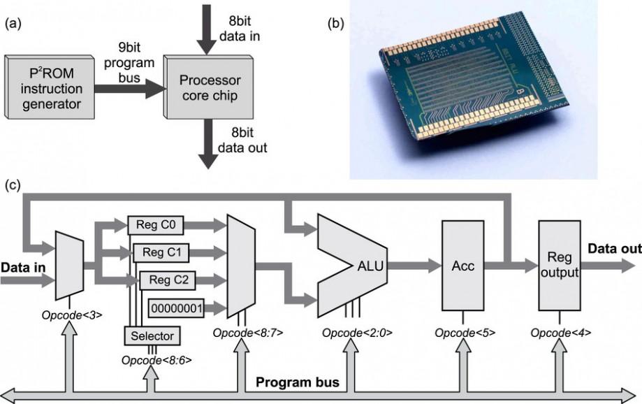 Архитектура иблок-схема микропроцессора
