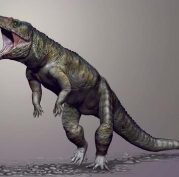 Двуногий крокодиломорф «Каролинский мясник»