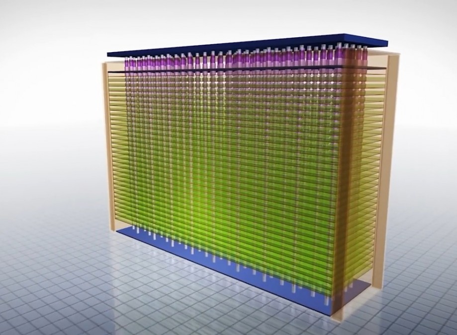 Упаковка памяти в3D NAND