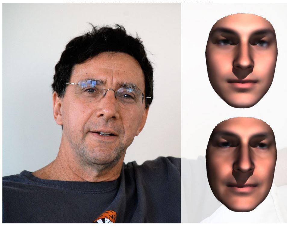 Марк Маркофф иего портрет.