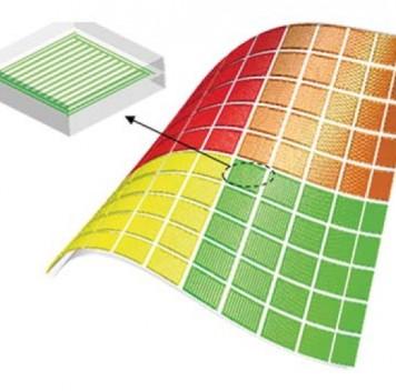 Создан материал, меняющий цвет при деформации