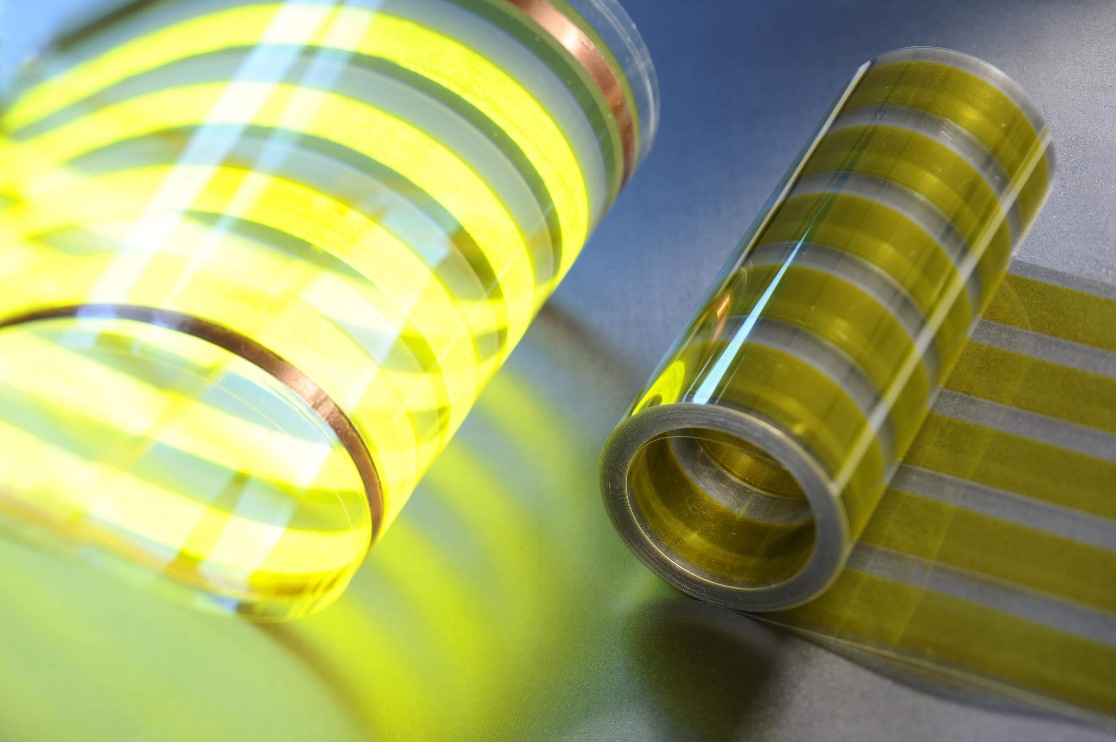 Распечатываемая OLED-плёнка, разработанная VTT.