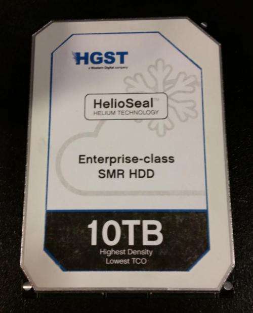 HGST начнёт поставки 10-Тбайт жёстких дисков во втором квартале