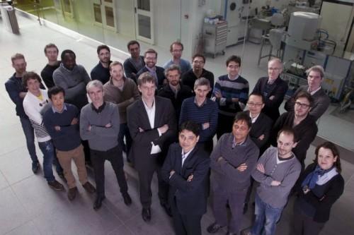 Команда из Национального института Тиндаля.