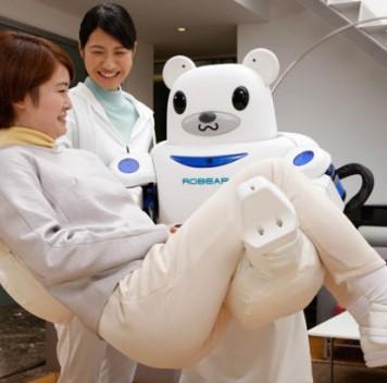 Японские роботы-медведи будут помогать людям