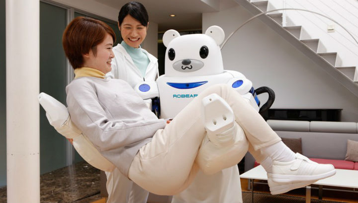 Робот-медведь (ROBEAR).