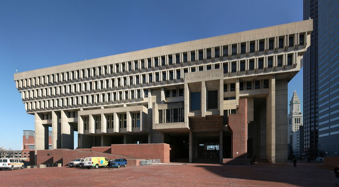 Boston City Hall, December 2010