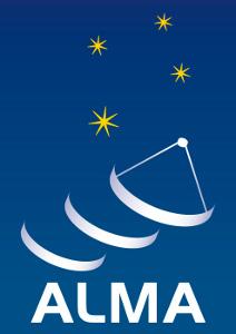 Логотип ALMA (Atacama Large Millimeter Array).