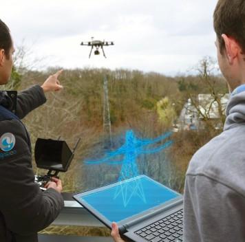 Во Франции разрабатывают дополненную реальность для дронов