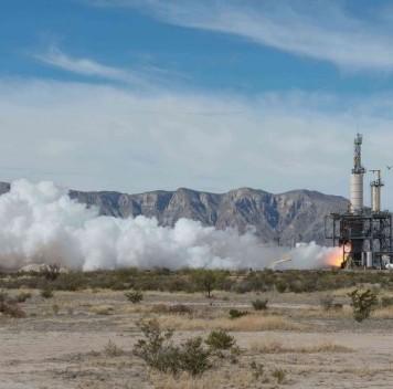 Blue Origin завершила испытания двигателя для космического корабля